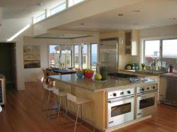 Creative kitchen islands stove top makeover ideas (15)