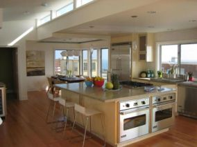 Creative kitchen islands stove top makeover ideas (15)