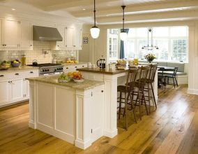 Creative kitchen islands stove top makeover ideas (16)