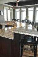 Creative kitchen islands stove top makeover ideas (19)