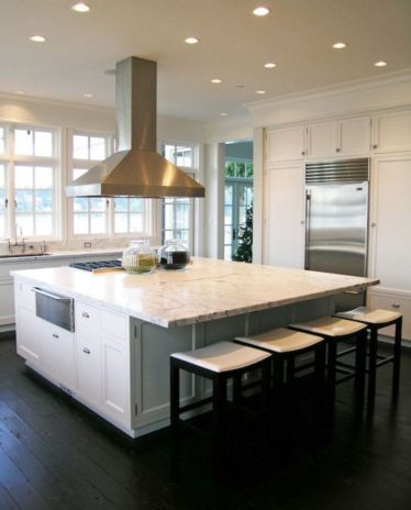 Creative kitchen islands stove top makeover ideas (24)