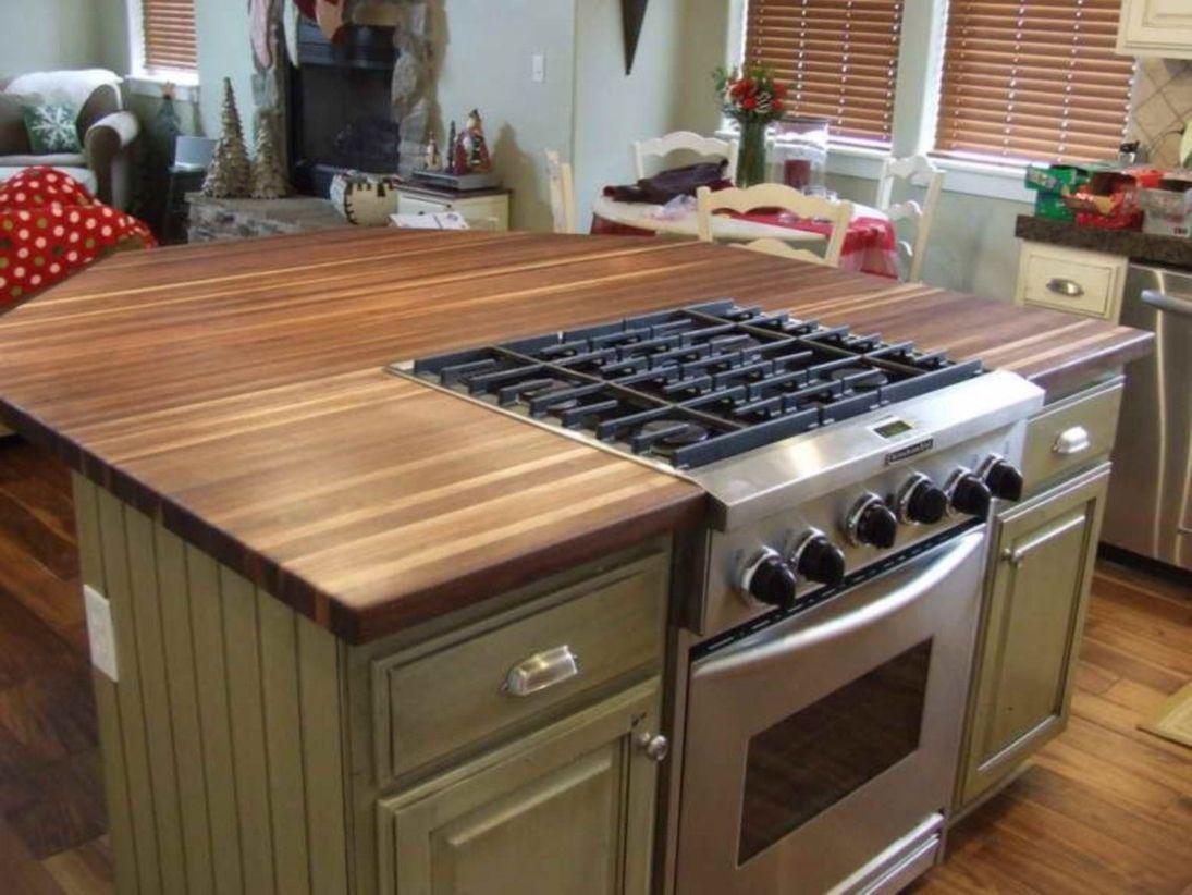 Creative kitchen islands stove top makeover ideas (29 ...
