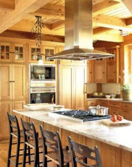 Creative kitchen islands stove top makeover ideas (34)