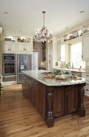 Creative kitchen islands stove top makeover ideas (40)
