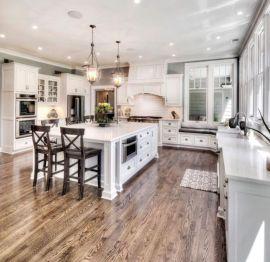 Creative kitchen islands stove top makeover ideas (43)