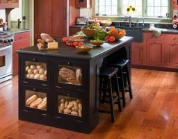 Creative kitchen islands stove top makeover ideas (5)