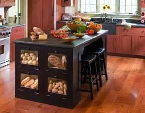 Creative kitchen islands stove top makeover ideas (5)