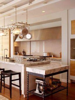 Creative kitchen islands stove top makeover ideas (7)