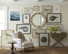 Easy diy rustic coastal decor that will beauty your home 04