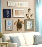 Easy diy rustic coastal decor that will beauty your home 08