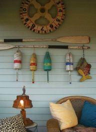 Easy diy rustic coastal decor that will beauty your home 16