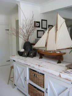 Easy diy rustic coastal decor that will beauty your home 19