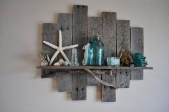 Easy diy rustic coastal decor that will beauty your home 21