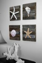 Easy diy rustic coastal decor that will beauty your home 41