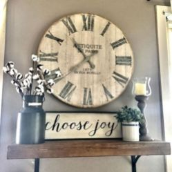 Elegant farmhouse decor ideas for your home (13)