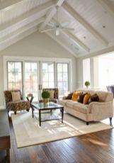 Elegant farmhouse living room design decor ideas (2)