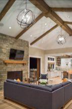 Elegant farmhouse living room design decor ideas (23)