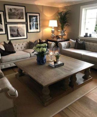 Elegant farmhouse living room design decor ideas (27)