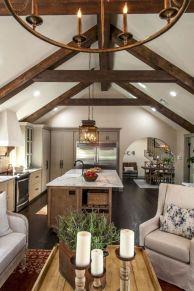 Elegant farmhouse living room design decor ideas (7)