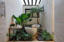 Excellent indoor spa decorating ideas 07