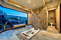 Excellent indoor spa decorating ideas 08