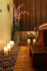 Excellent indoor spa decorating ideas 36