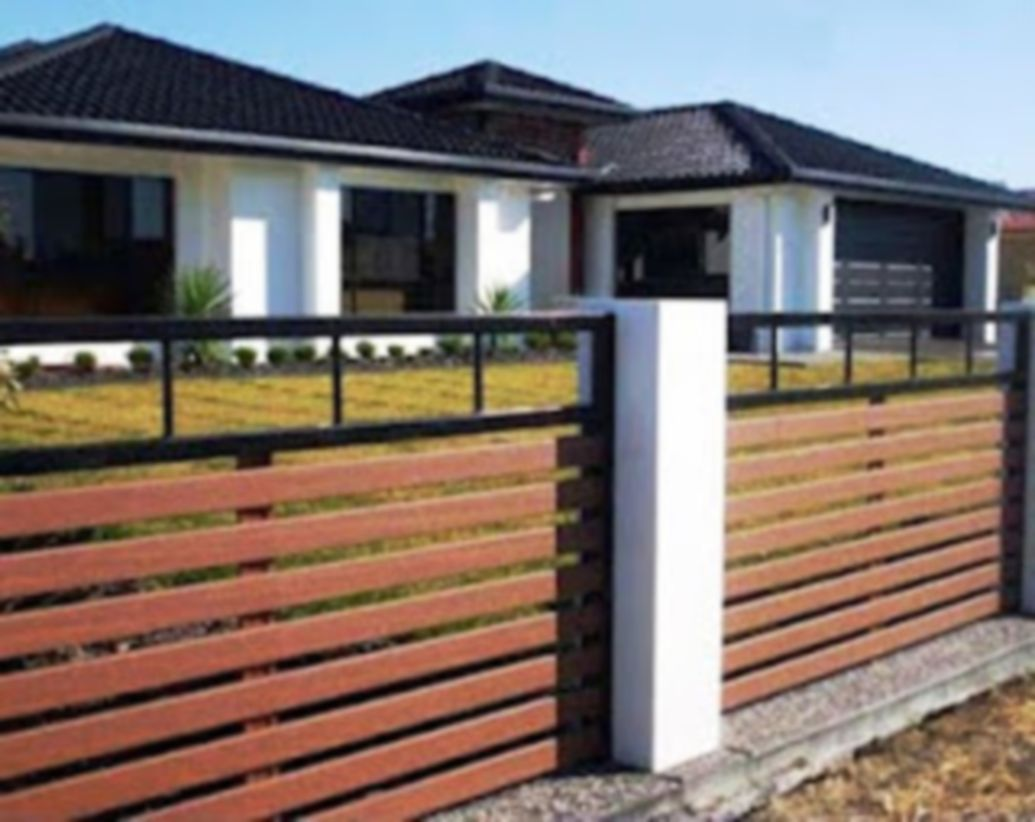 Exclusive and modern minimalist fence design ideas 05