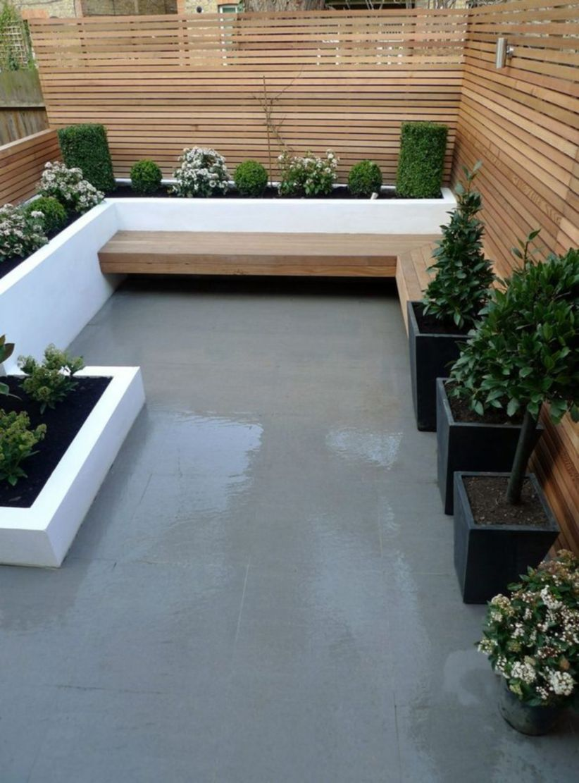 Exclusive and modern minimalist fence design ideas 19