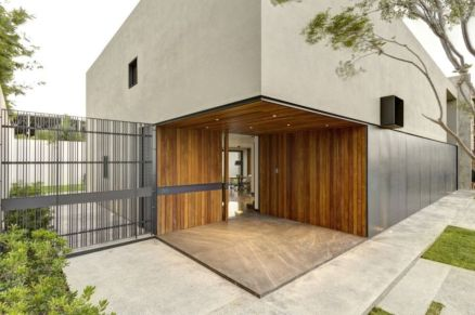 Exclusive and modern minimalist fence design ideas 28
