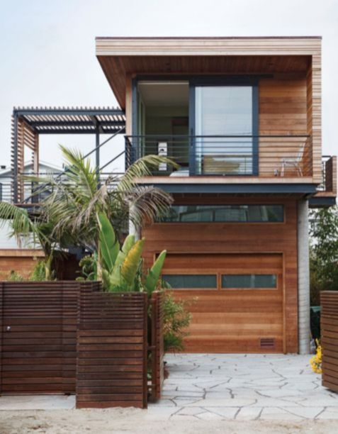 Exclusive and modern minimalist fence design ideas 34