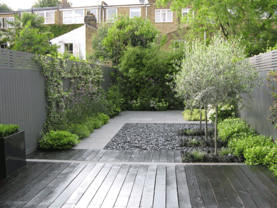 Exclusive and modern minimalist fence design ideas 39