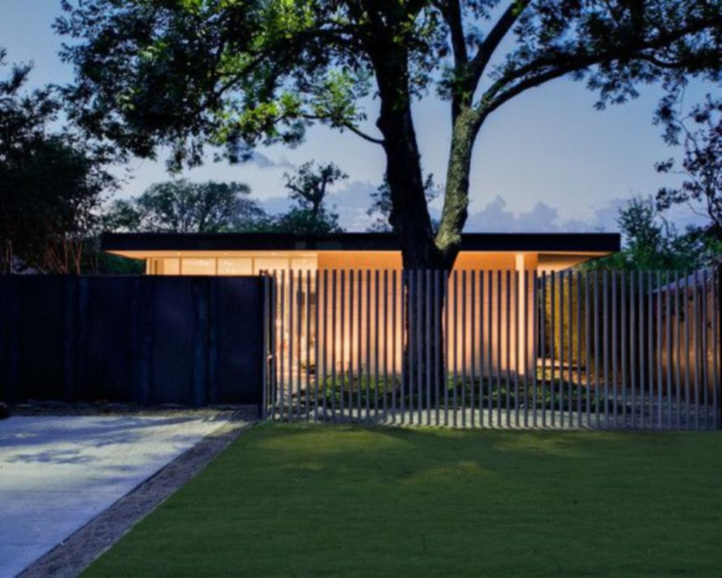 47 Exclusive And Modern Minimalist Fence Design Ideas
