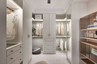 Fresh neutral color scheme for modern interior design ideas 05