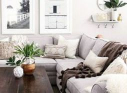Fresh neutral color scheme for modern interior design ideas 16