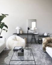 Fresh neutral color scheme for modern interior design ideas 27