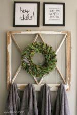 Gorgeous farmhouse master bathroom decorating ideas (29)