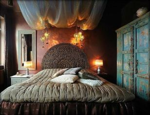 Inspired boho bedroom decorating ideas on a budget 08