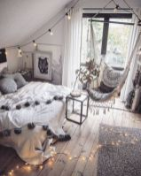 Inspired boho bedroom decorating ideas on a budget 19