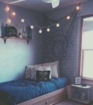 Inspired boho bedroom decorating ideas on a budget 32