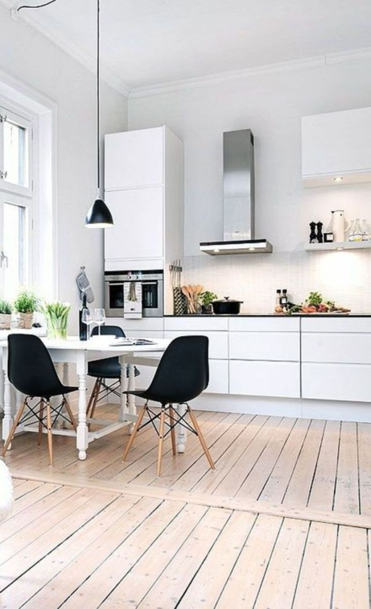 Luxury scandinavian taste dining room ideas (12)