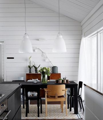 Luxury scandinavian taste dining room ideas (16)