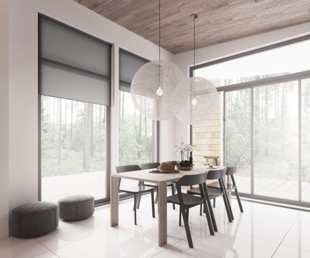 Luxury scandinavian taste dining room ideas (19)