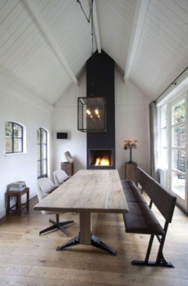 Luxury scandinavian taste dining room ideas (23)