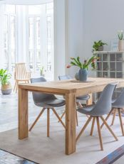 Luxury scandinavian taste dining room ideas (26)