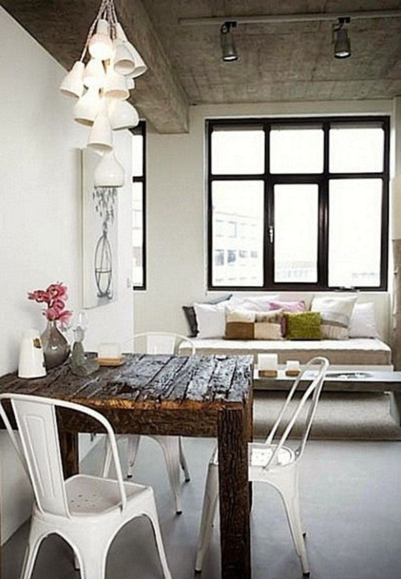 Luxury scandinavian taste dining room ideas (29)