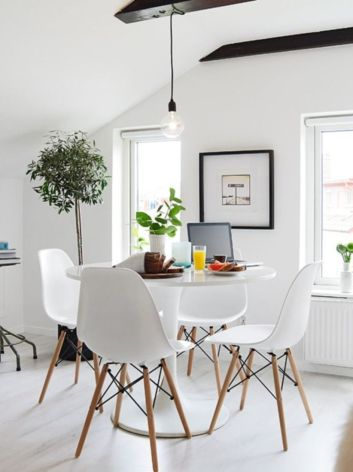 Luxury scandinavian taste dining room ideas (3)