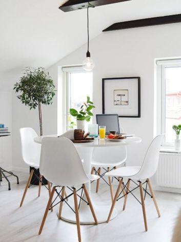 Luxury scandinavian taste dining room ideas (3)