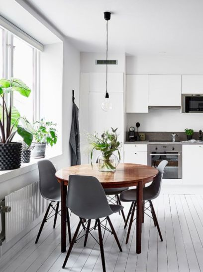 Luxury scandinavian taste dining room ideas (47)