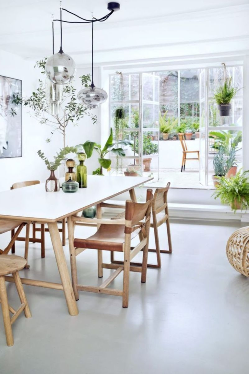 Luxury scandinavian taste dining room ideas (6)