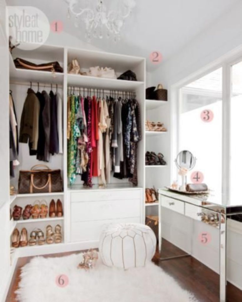 Magnificant closets ideas for your best clothes (31)